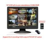 8CH Realtime All-in-one Full D1 CIF CMS DVR OD1508L