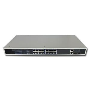 Hi-Net S2018-P 16+2G Ports POE Switch