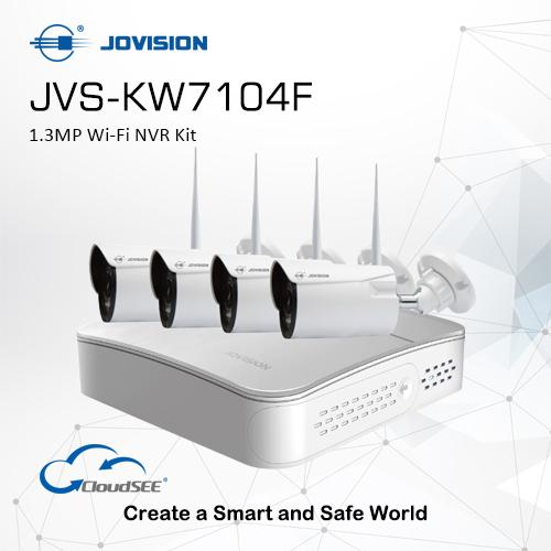 Jovision 1.3MP Wi-Fi NVR KIT
