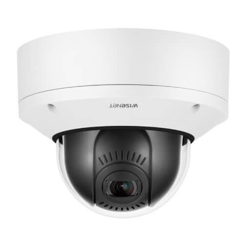 Wisenet XND-6081VZ 2MP Vandal-Resistant Indoor Network Dome PTRZ Camera