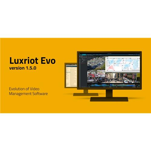 Luxriot Eva VMS Version 1.5.0