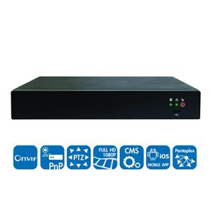 ANVR2204 4ch Real-Time Standalone PoE NVR