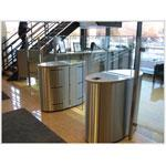 Hayward  EZ Lane Full Glass Optical Turnstile