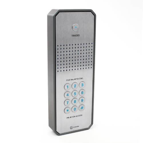 GSM intercom with keypad (3G) Customisable design Multi-way for multiple properties