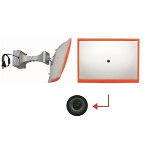 Convex Mirror Hidden Security CCD Camera