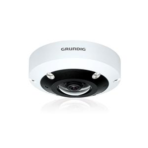 Grundig GCI-M1566F 6 MP Fisheye Vandal-Proof Dome IP Camera With IR LED