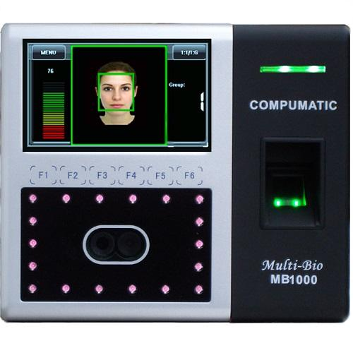 Compumatic Multi-Bio MB1000 Biometric Face Recognition & Fingerprint System
