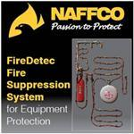 NAFFCO FireDetec Fire Suppression System for Equipment Protection