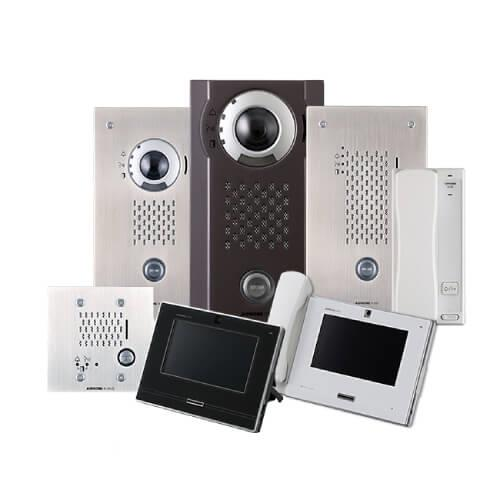 Aiphone IX2 IP intercom and security system