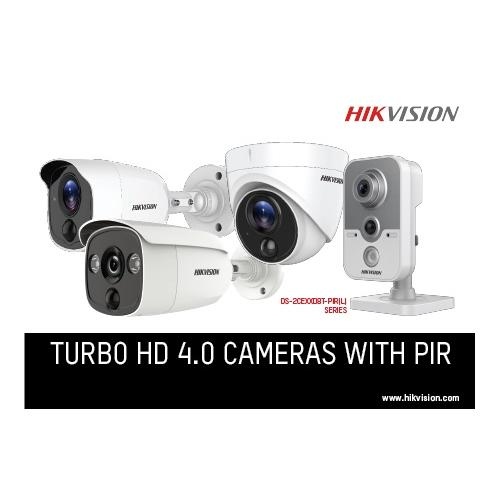 Hikvision Turbo HD 4.0 camera with PIR