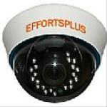 3-Axis Plastic Dome Camera, 1/3