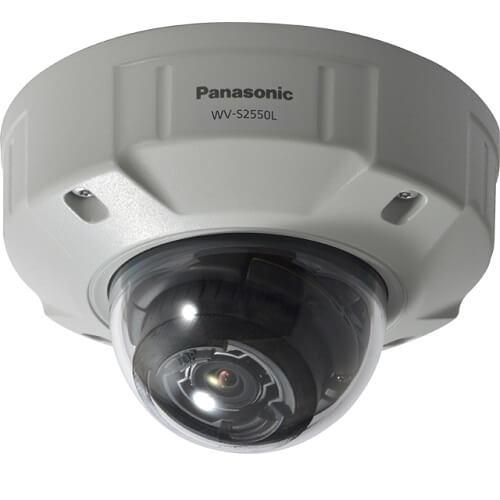 Panasonic 5MP Vandal Resistant Dome Network Camera WV-S2550L