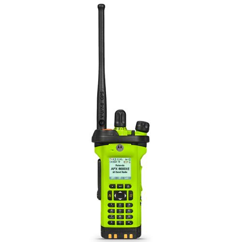 APX 8000HXE ALL-BAND P25 HAZLOC PORTABLE RADIO