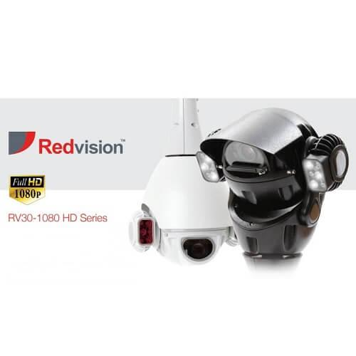 Redvision X-Series Ruggedised IP PTZ Domes RV30-1080 HD Series