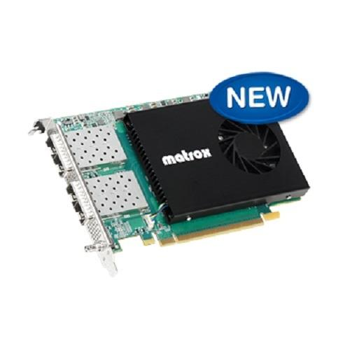 Matrox X.mio5 Q25 SMPTE ST 2110 Network Interface Controller
