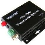 Fiber Optic Video Transmitter - 1 Channel Video over Fiber