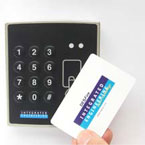 ISO 14443-4 Lighted Keypad Reader