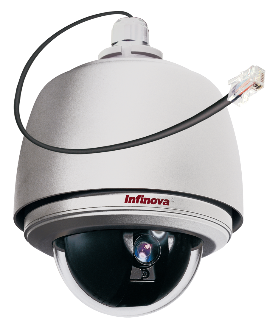 V1700N-T Series IP PTZ Recessed Ceiling and Bracket Mount Dome Camera